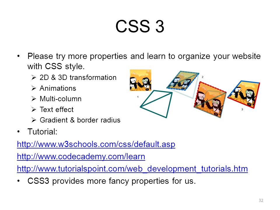 CSCI 3100 Tutorial 2 Web Development Tools 1 HTML 5 & CSS