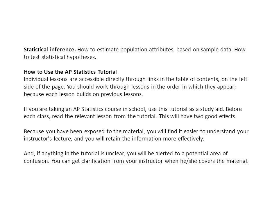 Ap statistics 10. 1. 2 the correlation coefficient r tutorial.