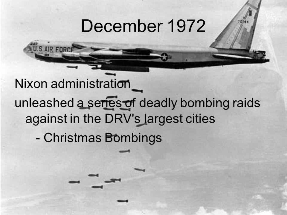 39 december - Christmas Bombings