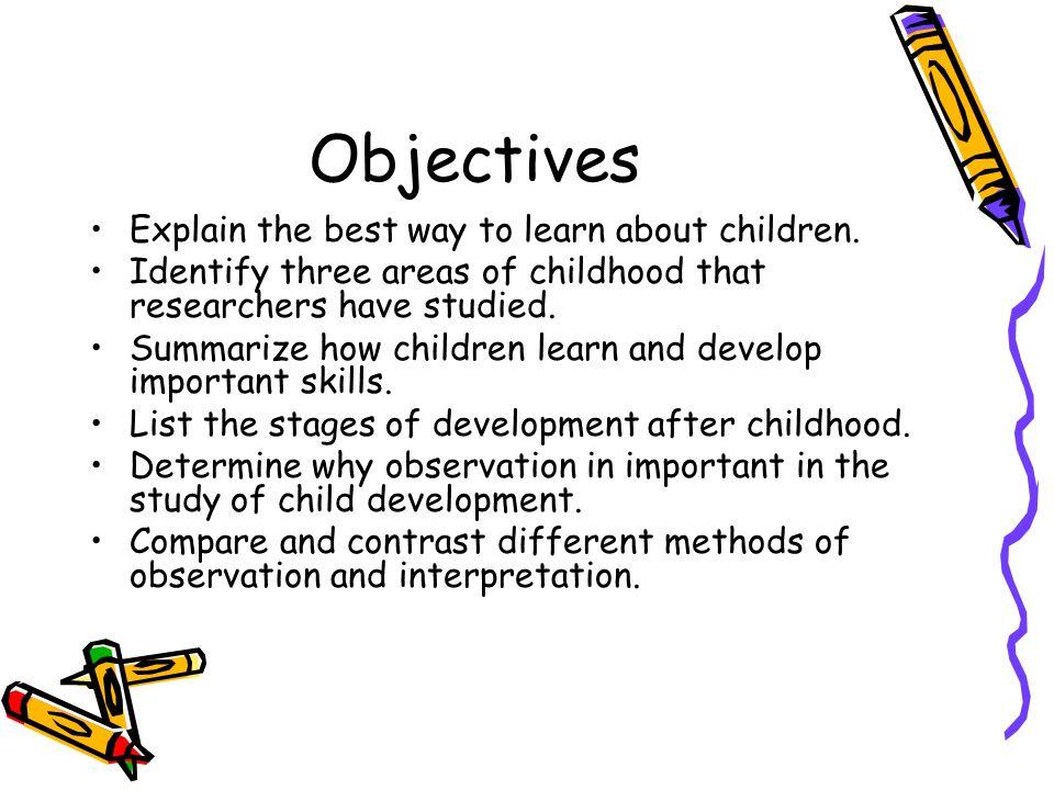 parent child observation report
