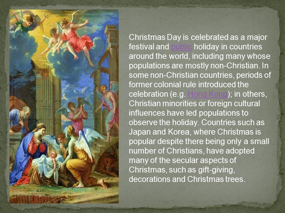 Christmas History In English.Christmas Or Christmas Day Old English Cristesmaesse