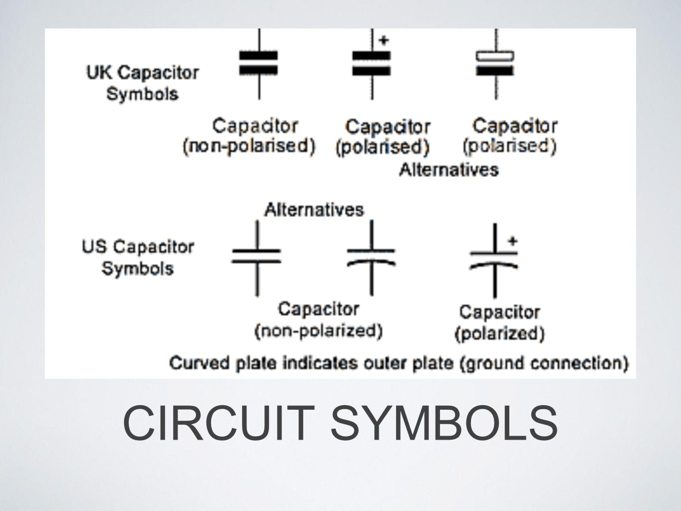 Capacitors If A Job Is To Store Electrical Charge Where Wiring Symbols Uk 5 Circuit