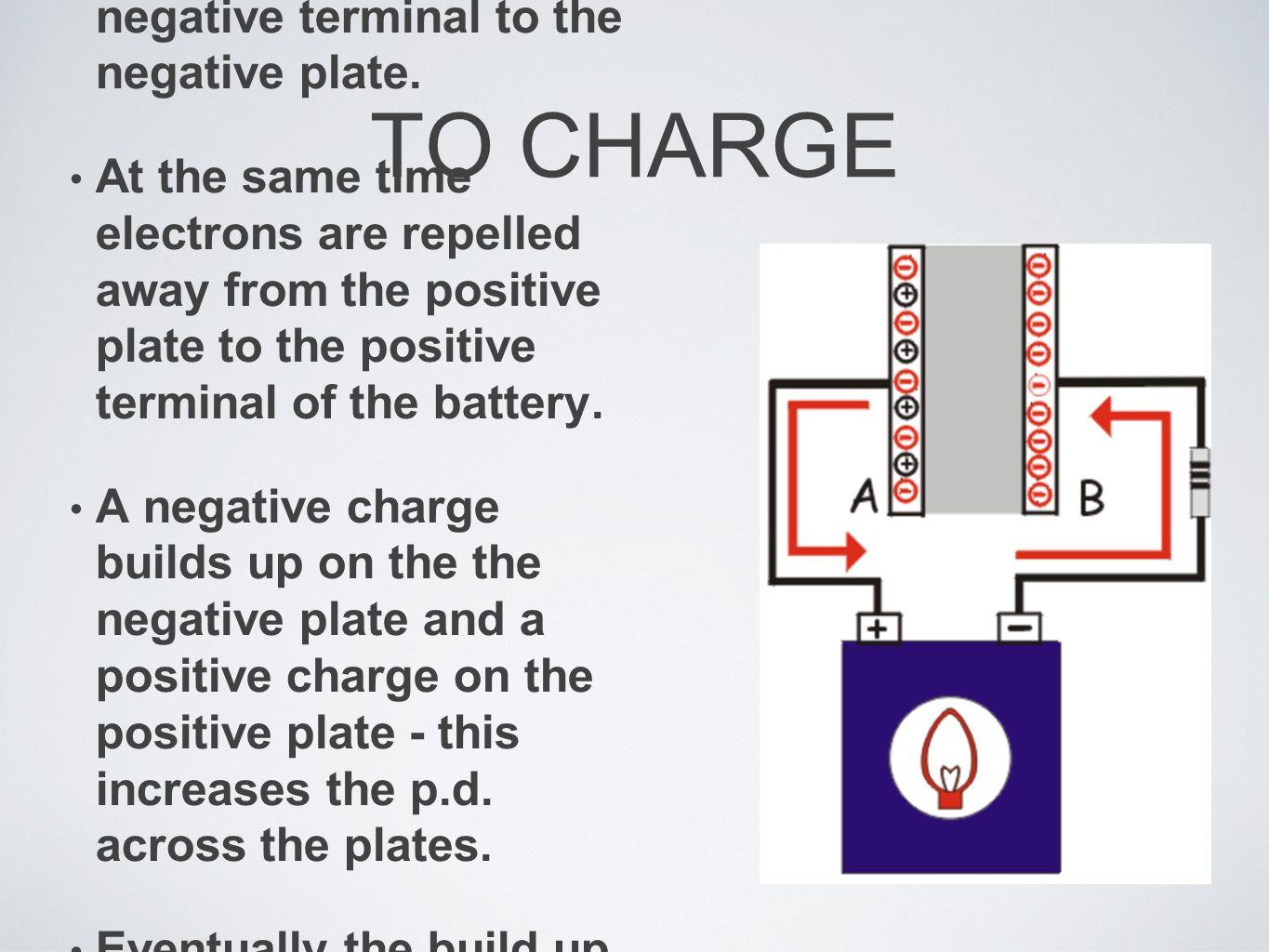 Capacitors If A Job Is To Store Electrical Charge Where Capacitance And On Plates Chargeconnect Capacitor Battery Electrons Flow From The
