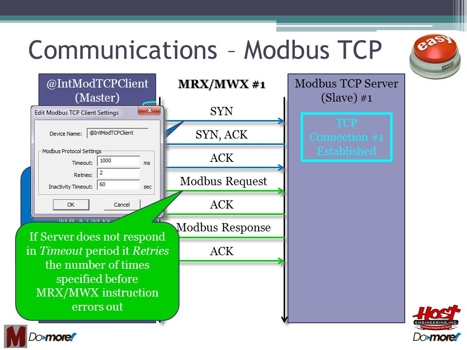 Do-more Technical Training Communications (Modbus TCP) - ppt