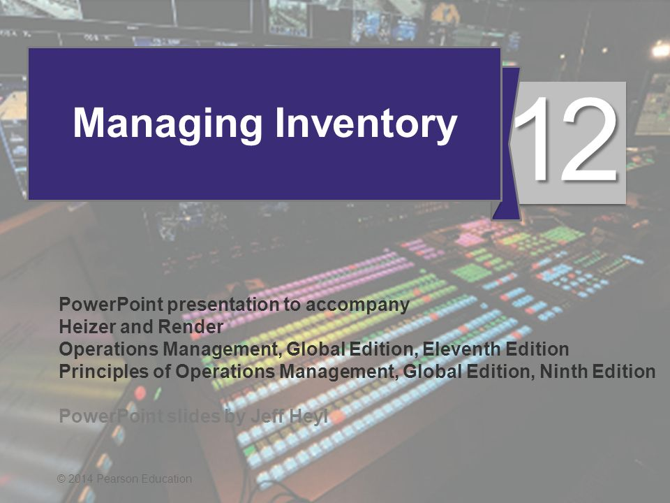 Operations management stevenson 11th edition ppt