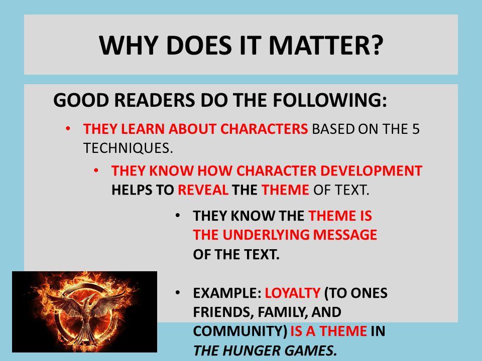 character development techniques