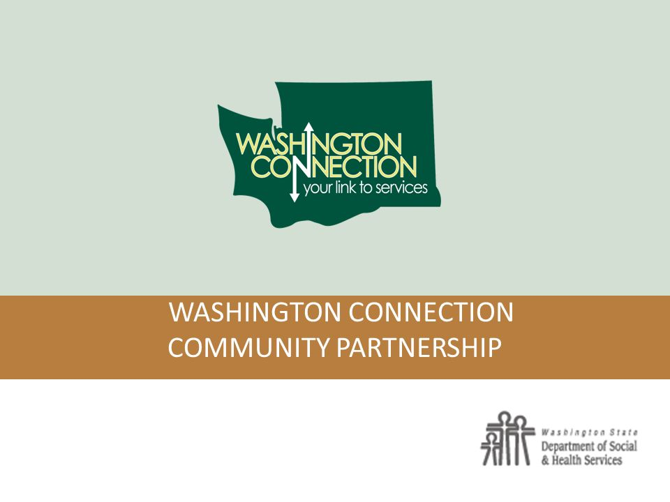 Washington Connection Community Partnership Washington Connection