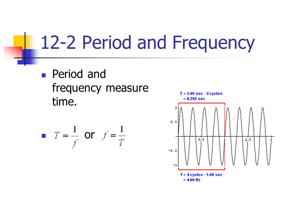 Holt Physics Chapter 12 Waves Periodic Motion A repeated motion that