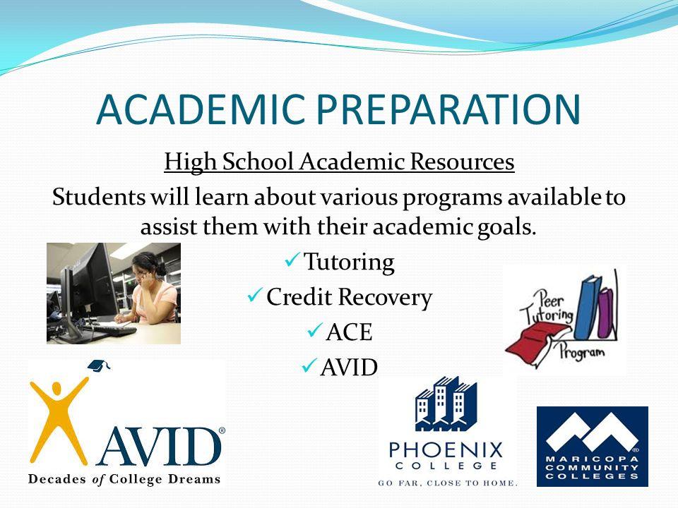 Explore Options Academic Preparation Social Preparation Ppt Download
