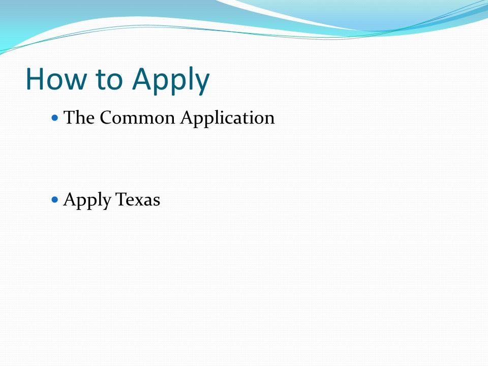apply texas college