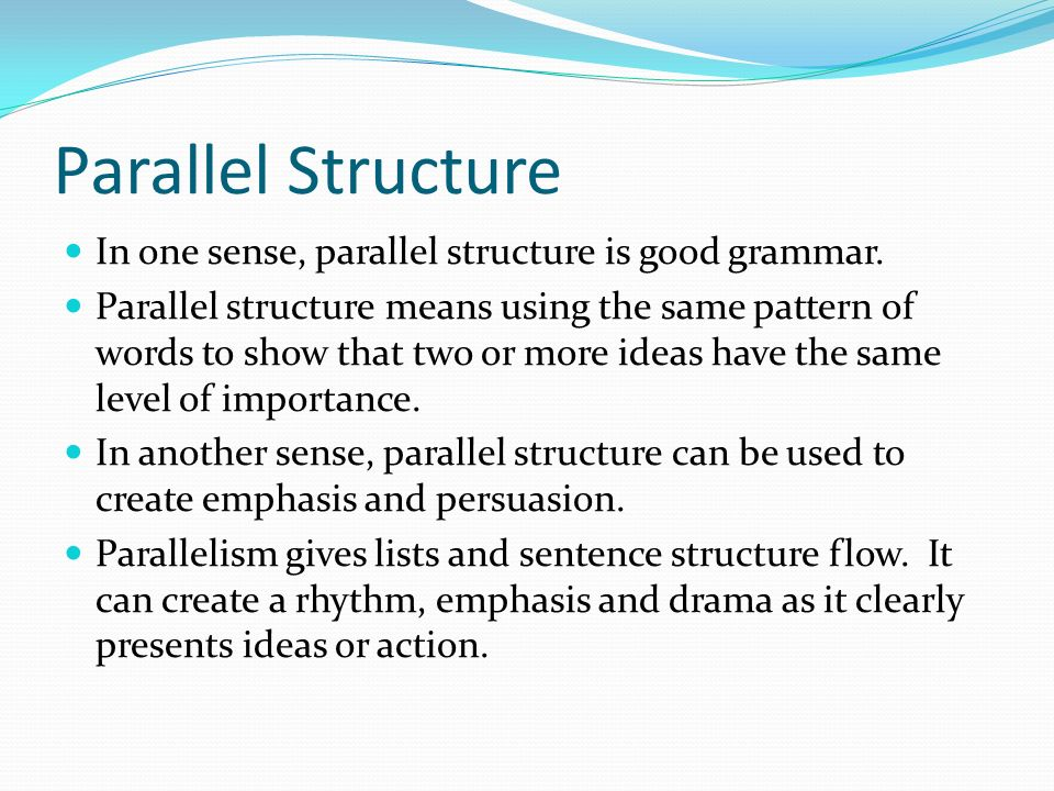 rhetorical structure definition