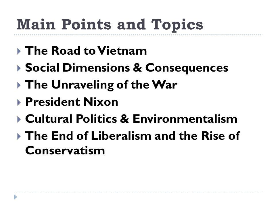 vietnam war topics