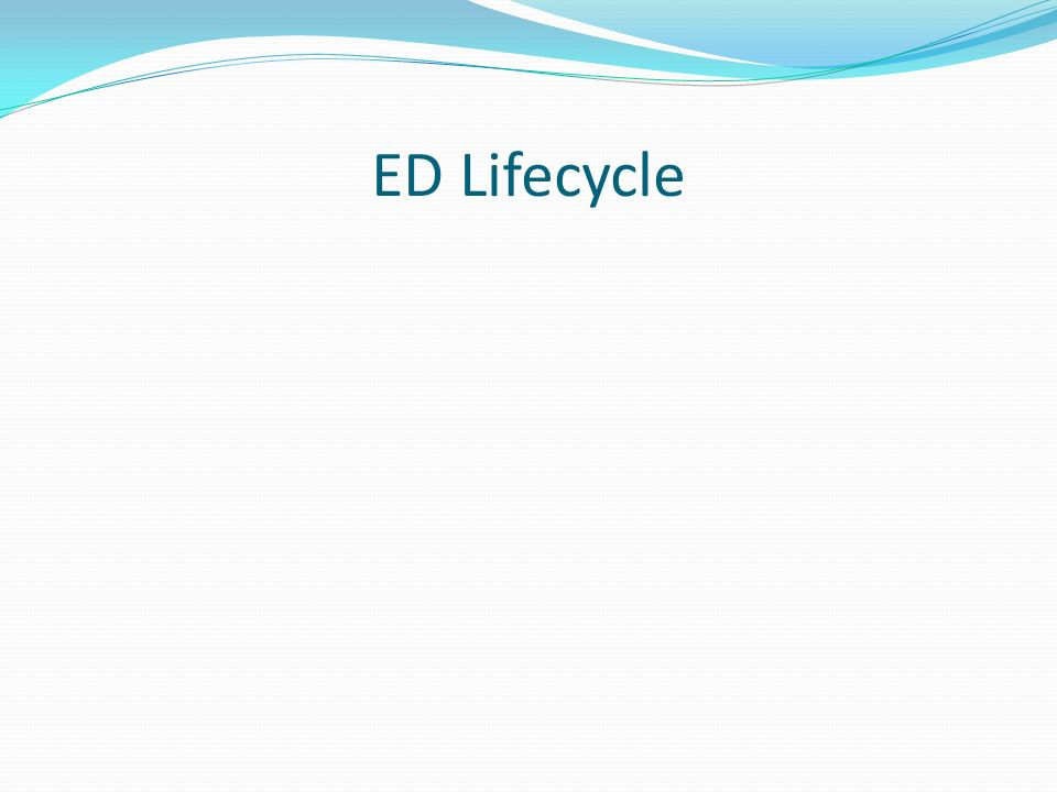 ED Lifecycle