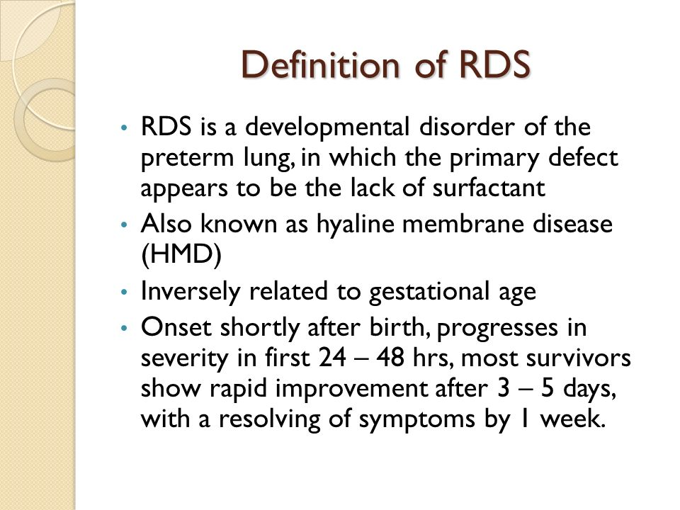 Respiratory Distress Syndrome By: Nicole Stevens  - ppt download