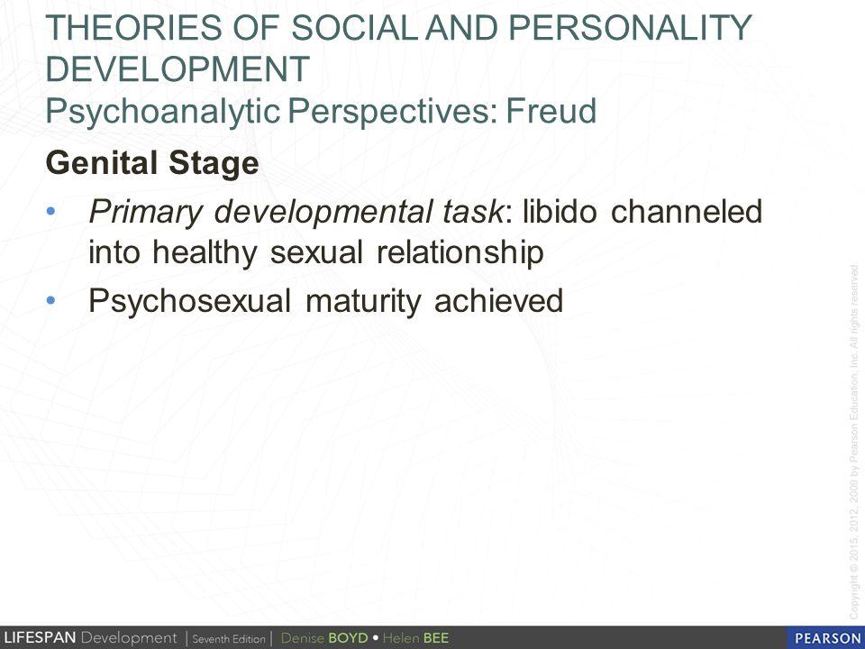 Psychosexual maturity definition