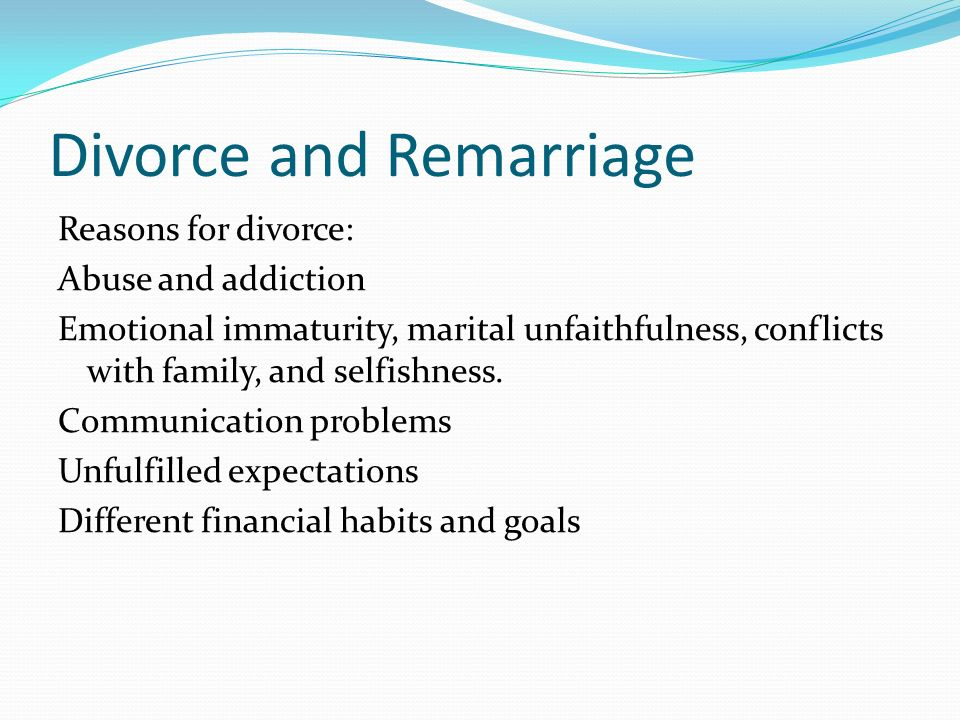 Marriage is a lifelong union between a husband and a wife, who