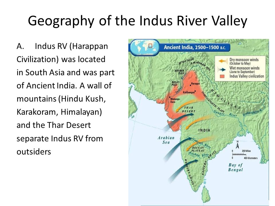 ancient indus river valley geography