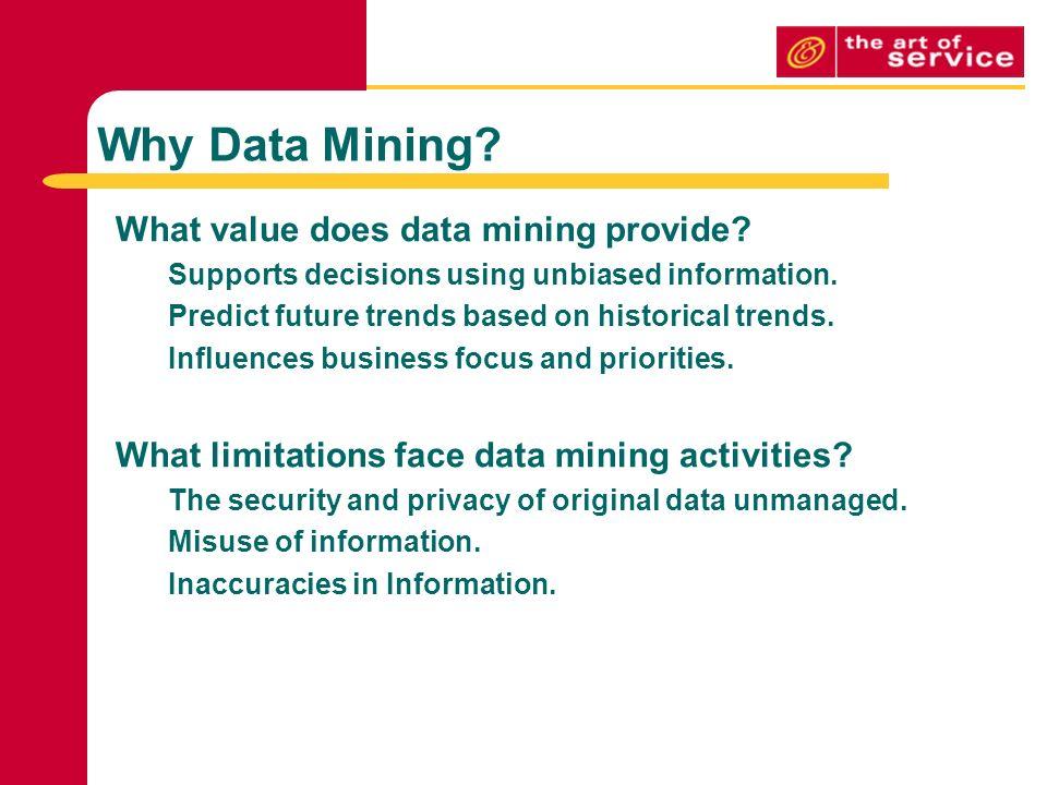 limitations of data mining
