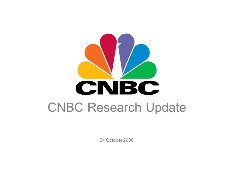 cnbc research update 24 october cnbc global. - ppt download, Cnbc Presentation Template, Presentation templates