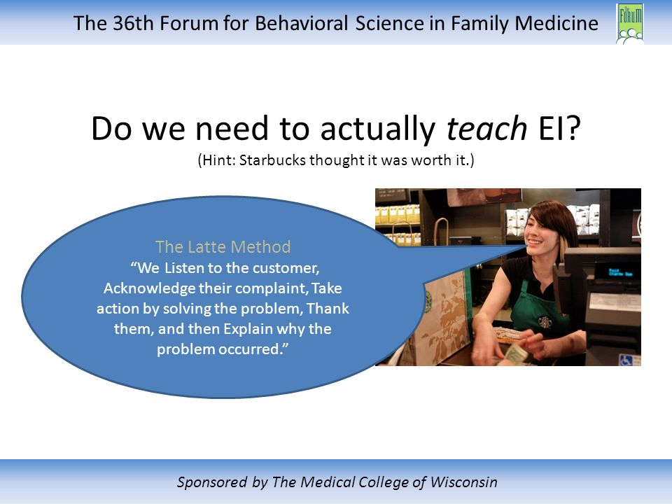 The 36th Forum for Behavioral Science in Family Medicine