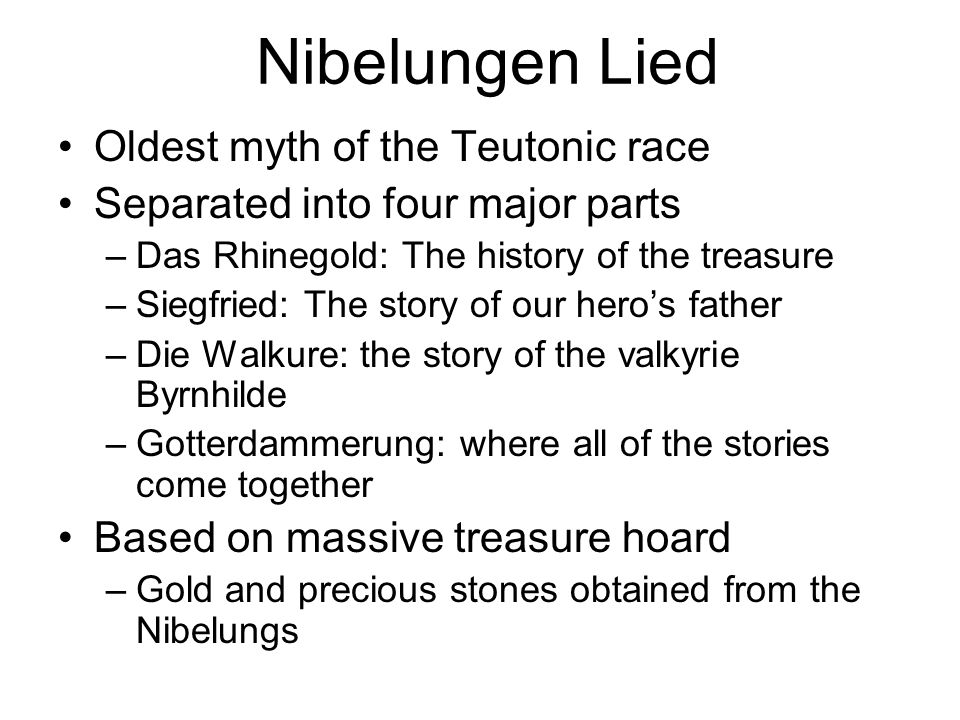 Sigurd the Volsung A Norse Epic Hero  Nibelungen Lied Oldest