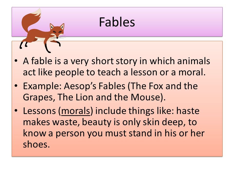 Folktales  There are several types of folk tales: - ppt download