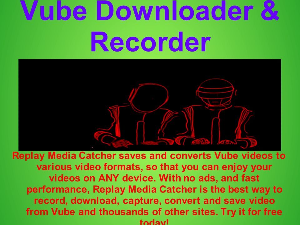 Vimeo Recorder & Downloader Replay Media Catcher saves and converts