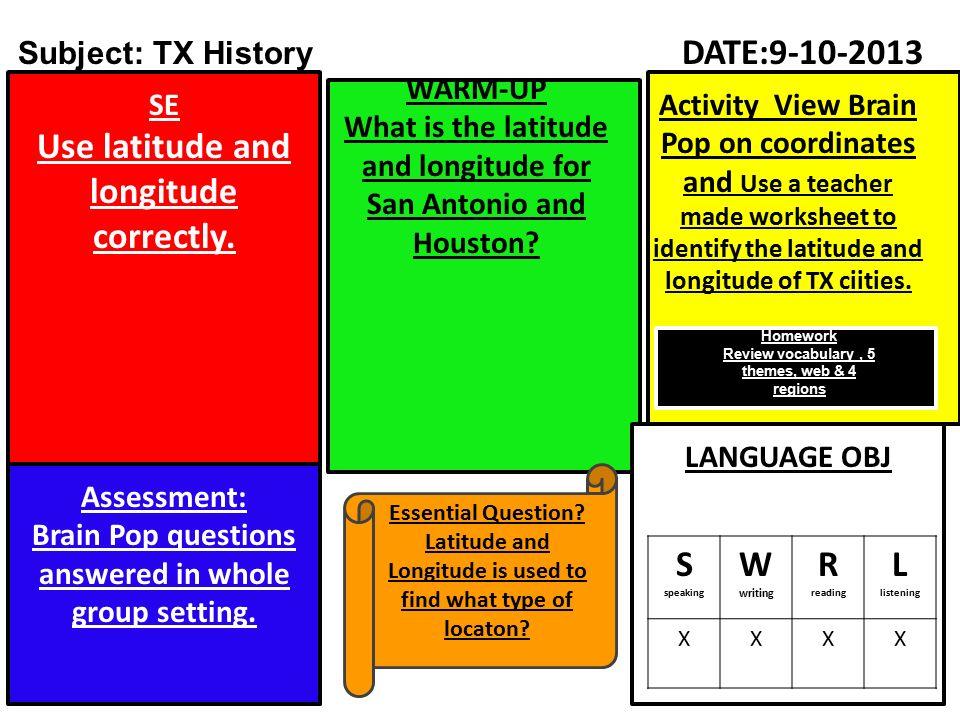 Subject/Grade Lesson Plans Teachers: D  Lira & L  Perez ppt