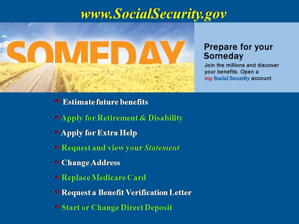 Social security 1935 retirement insurance 1939 survivors 32 socialsecurity estimate future benefits altavistaventures Image collections