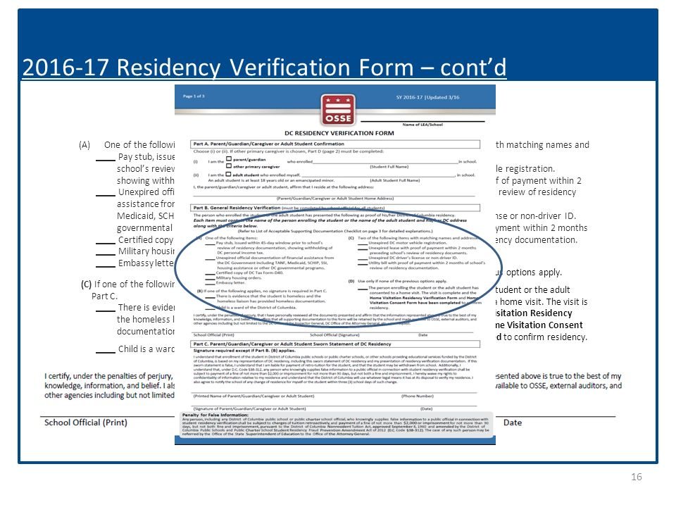 Gearing Up For Enrollment Residency Verification Webinar Tuesday March 8 00pm 4 00pm Office Of Enrollment And Residency Office Of The Ppt Download