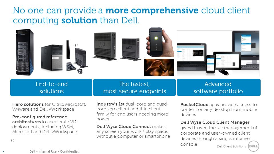 Why Dell for Client Solutions Presenter Name Title  - ppt