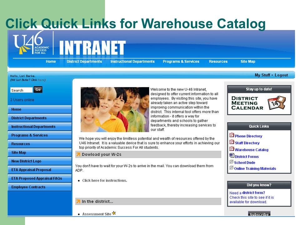 school district u 46 intranet training agenda intro objective web