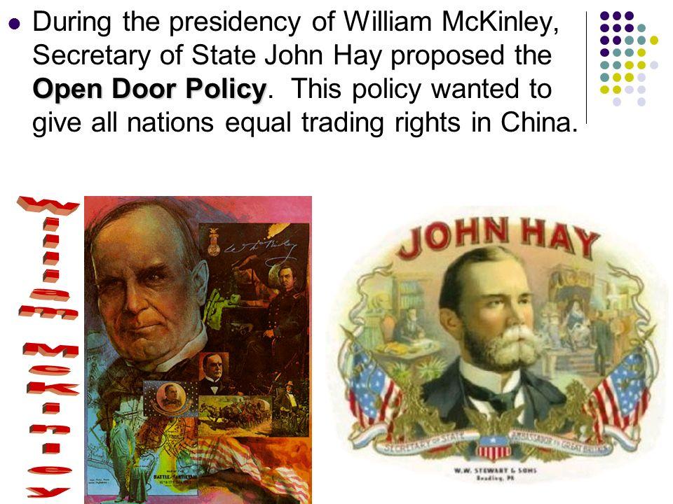 open door policy john hay. 5 Open Door Policy Open Door Policy John Hay