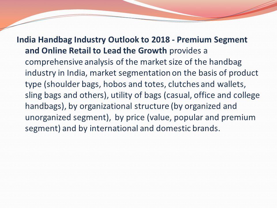 2 India Handbag Industry