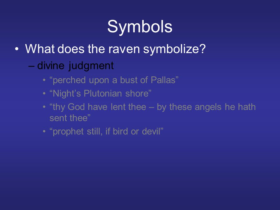 The Raven By Edgar Allan Poe Pages Ppt Download