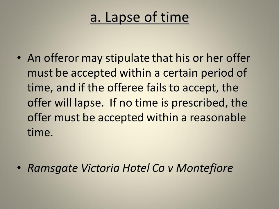 ramsgate hotel v montefiore