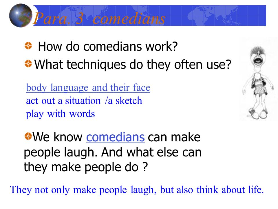 comedy writing techniques