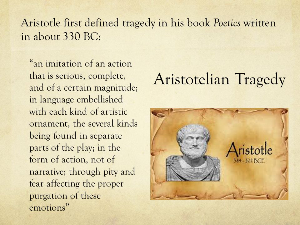 aristotles definition of a tragic hero
