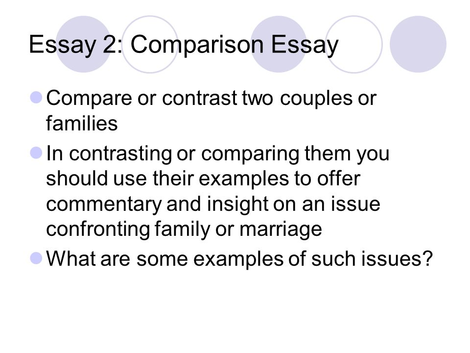 how do i write a comparison/contrast essay Keys to writing compare & contrast essay before you start, it is crucial to choose topics that you really know well most often, you should find two things that have enough differences and similarities.