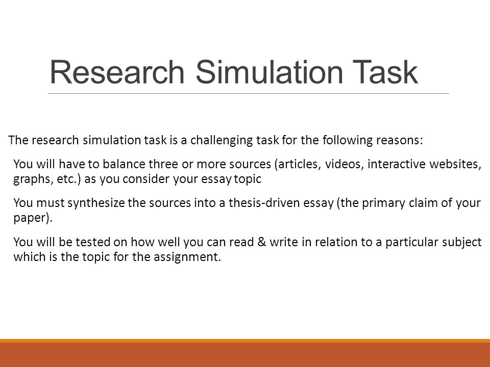 modeling and simulation research topics