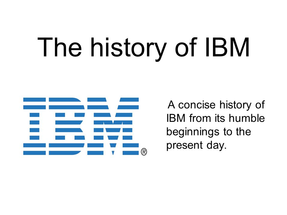 a short history of ibm Lotus founder mitch kapor saw the potential in ozzie's collaboration project and the rest is history  the history of notes and domino  wwwibmcom.