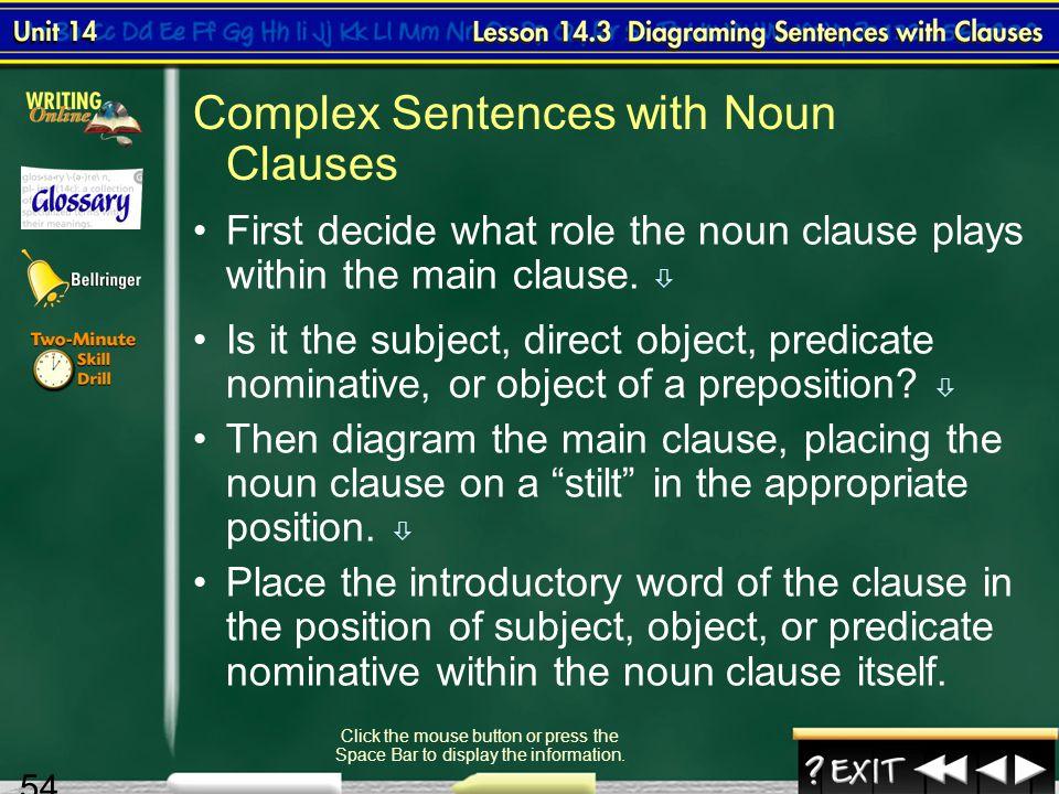 Splash screen unit 14 diagraming sentences 2 contents unit 14 54 54 ccuart Image collections