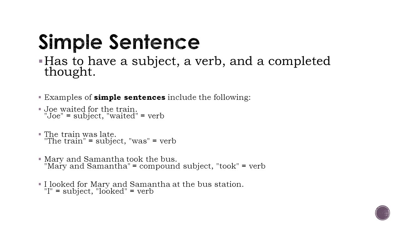 Every sentence MUST start with a capital letter and end with