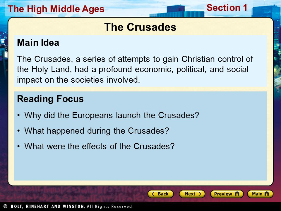 the effects of the crusades in europe The crusades, from the point of view of european life, were seen as an opportunity to serve god, and their fellow christians in the holy land who were being slaughtered and enslaved the crusades were extremely costly to the europeans, both in ter.