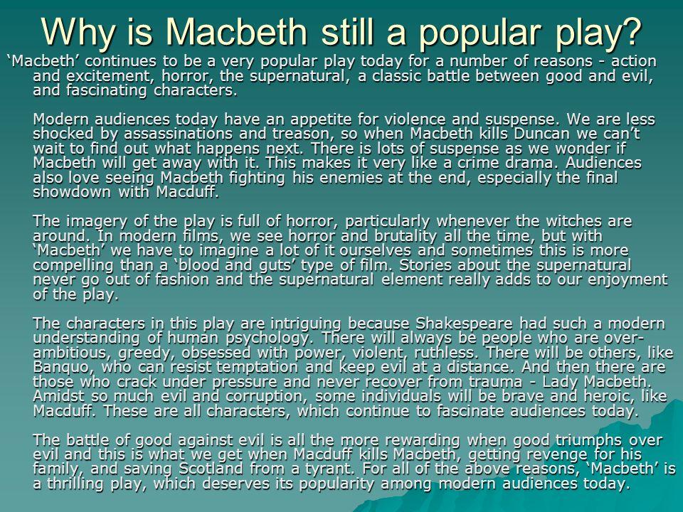 suspense in macbeth