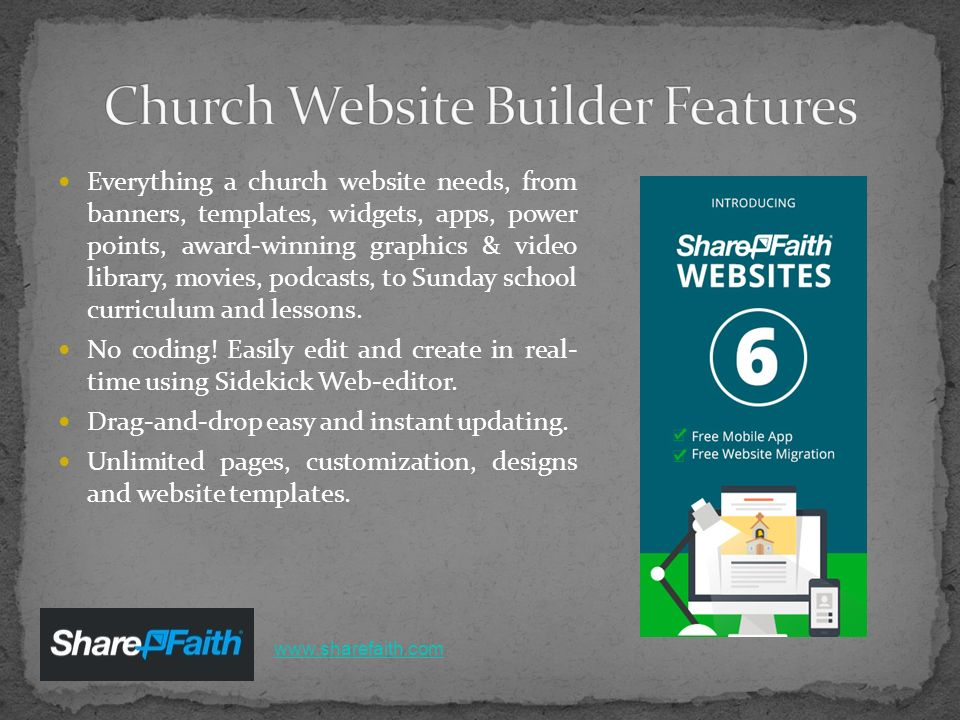 one stop resources for church websites hosting app sermon and