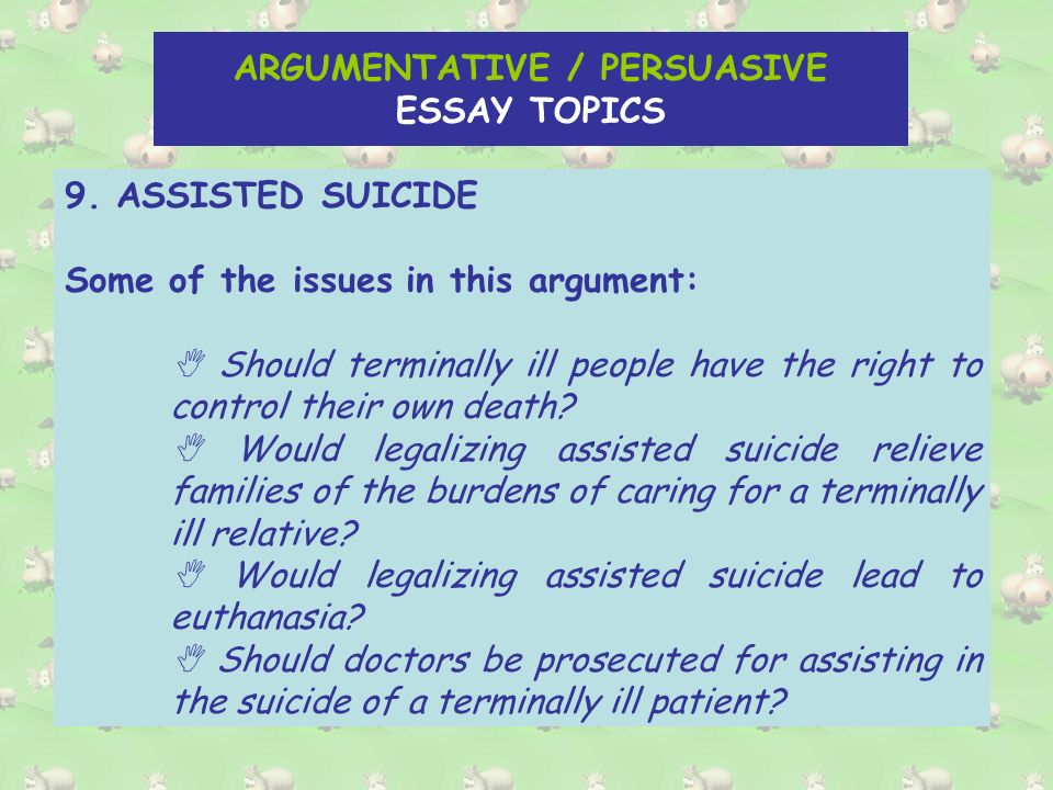 persuasive speech topics about family