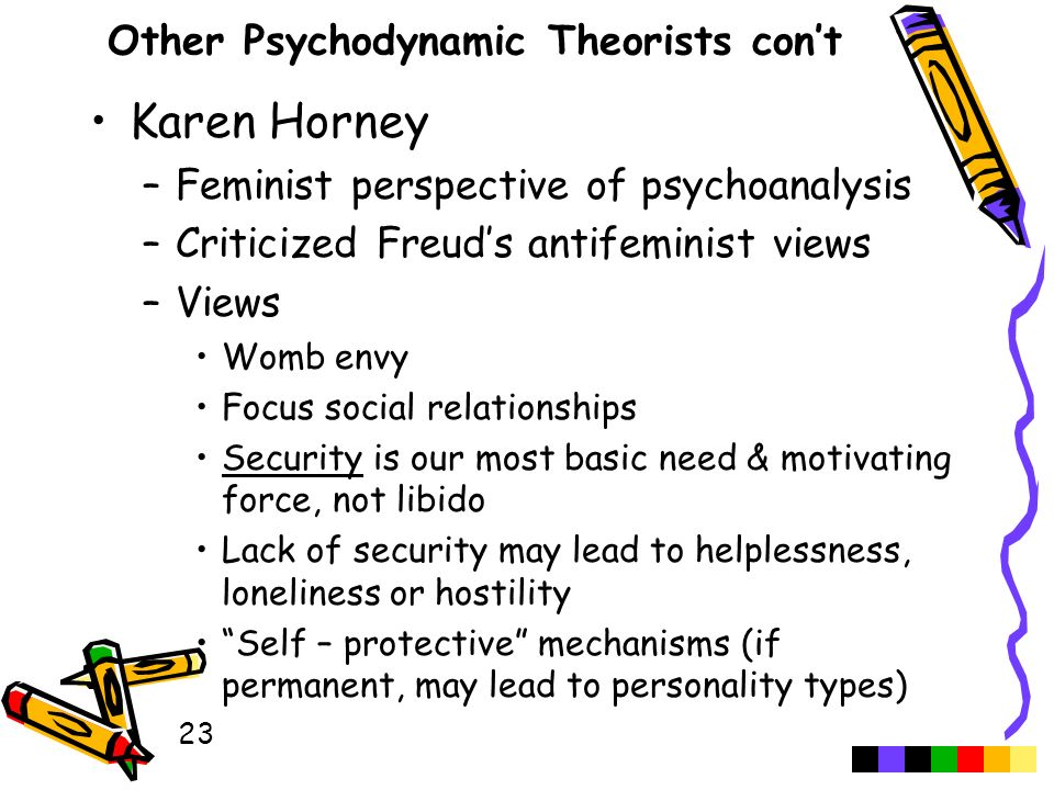 psychodynamic personality theories essay Freud and psychodynamic theories word count: 2229 approx pages: 9 has bibliography save essay though hugely controversial, his theory influenced the development of a number of psychodynamic theories of personality, which in turn have informed and shaped current.