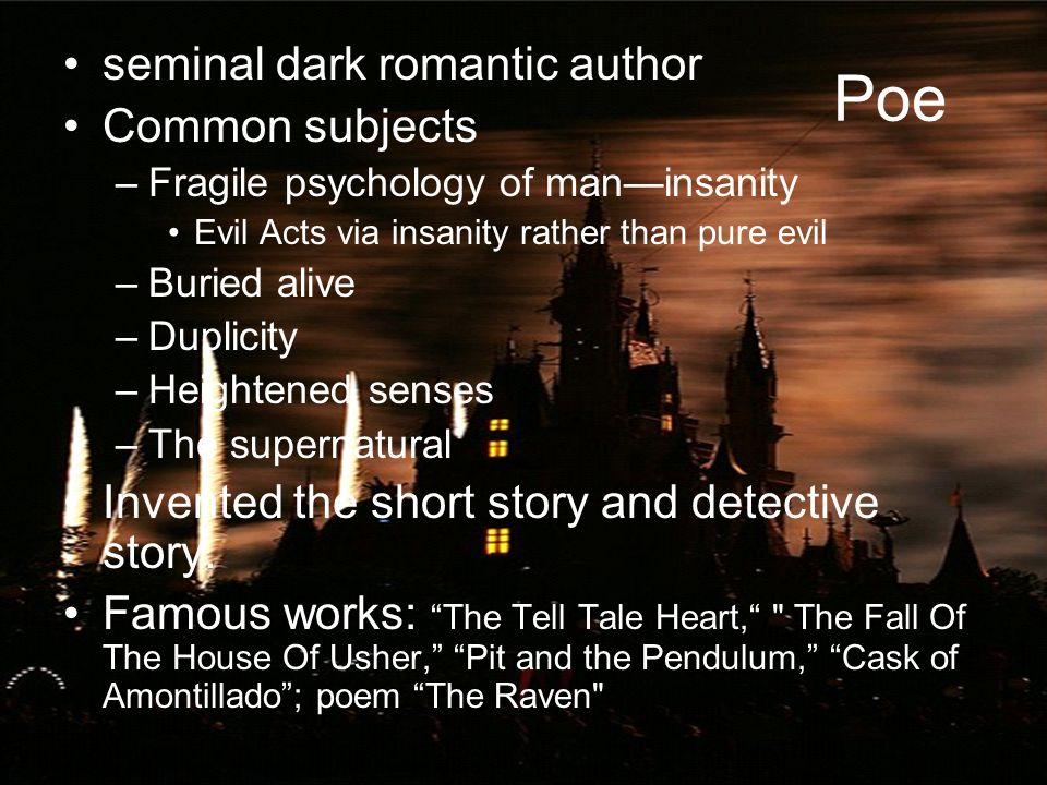 dark romanticism historical events