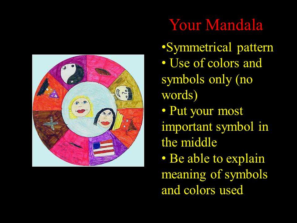 Mandalas Mandala Sanskrit Word For Circle Or Whole World It Is